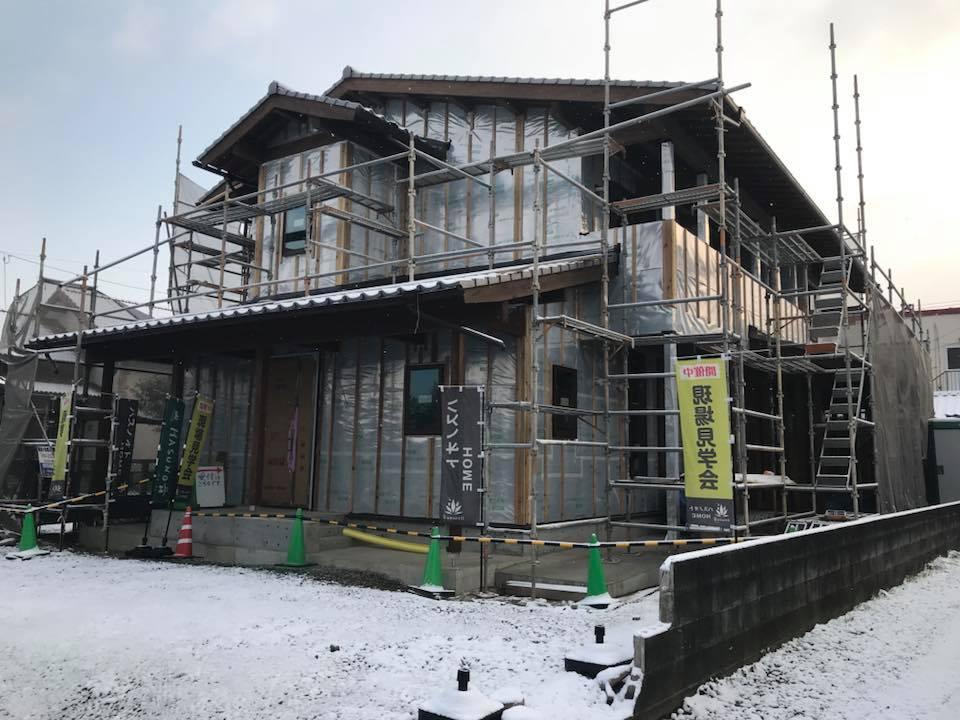 植木町M様邸構造見学会 | ハスノオトHOME